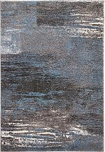 Teppich Bergen, blau (60/110 cm)