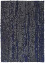 TEPPICH  Blau, Grau