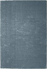 Teppich blau Größe rund: 140 cm Ø