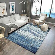 Teppich Boden Balkon Blaugrau Einfache