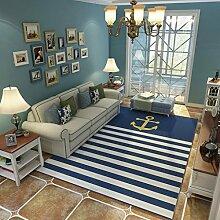 Teppich Bodenmatte Anti-Rutsch-Sofa Teppich mit 2