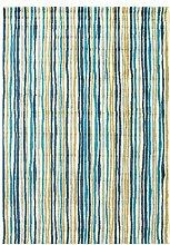 Teppich Bombay in Blau 17 Stories