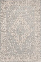Teppich Breeze Serenity blue/wool 155x230cm,