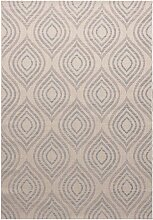 Teppich Breeze wool/raw/blue 200x290cm, 200x290cm