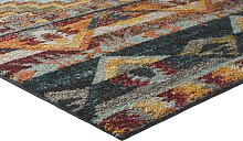 Teppich buntes Ethno Design 1, ca. 57/90 cm bunt