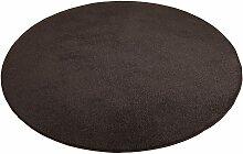 Teppich, Burbon, Living Line, rund, Höhe 10 mm,