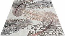 Teppich, Caimas 2985, Sehrazat, rechteckig, Höhe