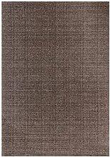 Teppich Cambodia - Poipet Taupe 160cm x 230cm Vintage-Look, Flachgewebe, pflegeleich