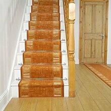 Teppich Carpentras für Treppen in Terrakotta
