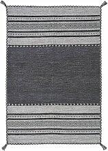 Teppich Catchings in Grau BohoLiving