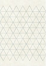 Teppich Cecile Harlequin in Creme Zipcode Design