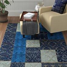 Teppich Chai in Blau BohoLiving