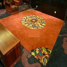 Teppich/Chinesischen Stil Wohnzimmerteppich/ klassische Teppich / Couchtisch Schlafzimmer Teppich-A 160x230cm(63x91inch)