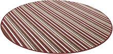 Teppich, Chipmunk, Living Line, rund, Höhe 7 mm,