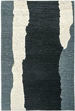 Teppich Clair Obscure Toulemonde Bochart schwarz,