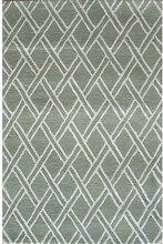 Teppich Clarkson in Grün Canora Grey