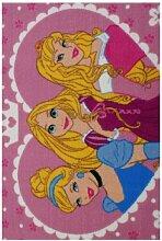Teppich Claudia in Rosa Disney Princess