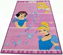 Teppich Claudine in Rosa Disney Princess
