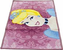 Teppich Clint in Rosa Disney Princess