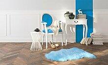 Teppich Cocooning blau 55x 80