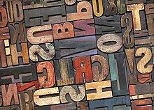 Teppich color-rè Fantasie Letters 60x240 Letters