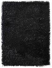 Teppich ConCourse in Schwarz Canora Grey