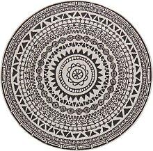 Teppich, Coron, bougari, rund, Höhe 5 mm,