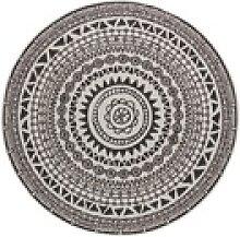 Teppich Coron, bougari, rund, Höhe 5 mm,