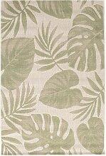 Teppich Cottage wool/ jungle green 120x170cm, 120