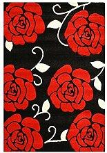 Teppich Couture in Rot Teppichgröße: 80 x 150 cm