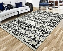 Teppich Creative Fashion Europäische Stil Sofa Couchtisch Wohnzimmer Schlafzimmer Bedside Rechteck Teppich (0,8 * 1,2 M)
