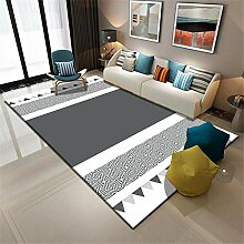 Teppich deko Balkon Grauer und weißer