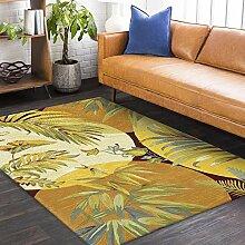 Teppich deko jugendzimmer Jungen Gelbgrüner