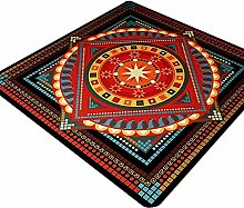 Teppich Designer Skandinavisch Grau Ocker Roter