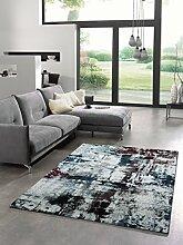 Teppich Designer Wohnzimmer Trendiger Kurzflor