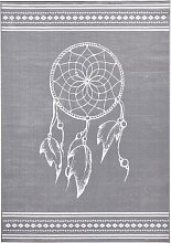 Teppich Dream, grau (80/150 cm)