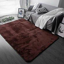 Teppich Einfach zu reinigen Fleckbeständig rutschfeste Nacht Teppich Wohnzimmer Couchtisch Schlafzimmer Teppich ( Farbe : G , größe : 100×160cm )
