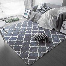 Teppich Einfach zu reinigen Fleckbeständig rutschfeste Nacht Teppich Wohnzimmer Couchtisch Schlafzimmer Teppich ( Farbe : C , größe : 100×160cm )