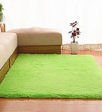 Teppich Einfache feste Farbe Teppich Wasserabsorption rutschfeste Rechteck Sofa Couchtisch Teppich Hall Wohnzimmer Schlafzimmer Teppich Lebensmittel ( Farbe : B , größe : 60*160CM )