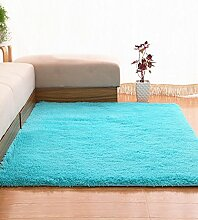 Teppich Einfache feste Farbe Teppich Wasserabsorption rutschfeste Rechteck Sofa Couchtisch Teppich Hall Wohnzimmer Schlafzimmer Teppich Lebensmittel ( Farbe : C , größe : 80*200CM )