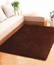 Teppich Einfache feste Farbe Teppich Wasserabsorption rutschfeste Rechteck Sofa Couchtisch Teppich Hall Wohnzimmer Schlafzimmer Teppich Lebensmittel ( Farbe : F , größe : 80*200CM )