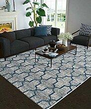 Teppich Einfache Idee Bedside Teppich Wasserabsorption rutschfeste Türmatten Wohnzimmer Hall Sofa Schlafzimmer Teppich Shaggy Teppich ( Farbe : G , größe : 80*150CM )
