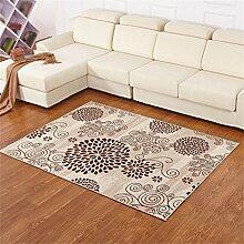 Teppich Einfache kreative Wohnzimmer Schlafzimmer Sofa Couchtisch Bedside Rectangle Anti-Rutsch-Teppich ( farbe : #9 , größe : 70*140cm )