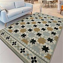 Teppich Einfache Moderne Europäische Stil Sofa Couchtisch Wohnzimmer Schlafzimmer Bedside Rectangle Teppich Weich und Anti-Rutsch ( größe : 1.4*2.0m )