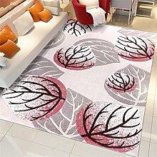 Teppich Einfache Moderne Mode Kreative Wohnzimmer Schlafzimmer Sofa Couchtisch Bedside Rectangle Teppich ( farbe : #1 , größe : 120*170cm )