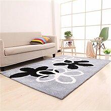 Teppich Einfache Moderne Mode Kreative Wohnzimmer Schlafzimmer Sofa Couchtisch Bedside Rectangle Teppich ( farbe : #18 , größe : 120*170cm )