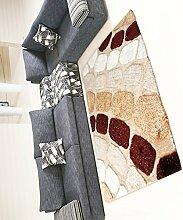 Teppich Einfacher dicker Teppich Moderner Sofa Couchtisch Teppich Rutschfeste Türmatten Wohnzimmer Hall Schlafzimmer Teppich Shaggy Teppich ( Farbe : B , größe : 140*200CM )