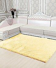 Teppich Einfacher Dickerer Teppich Wasserabsorption Rutschfester Viereck Badezimmer Badezimmer Treppen Teppich Hall Wohnzimmer Schlafzimmer Teppich Lebensmittel ( Farbe : B , größe : 40*60cm )