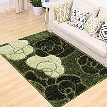 Teppich, einfaches Wohnzimmer Couchtisch Teppich, Schlafzimmer voll von rechteckigen Teppich, Zimmer Bedside Blanket ( farbe : B5 , größe : 120×170CM )
