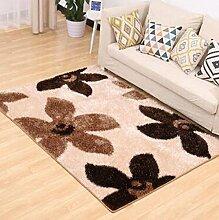 Teppich, einfaches Wohnzimmer Couchtisch Teppich, Schlafzimmer voll von rechteckigen Teppich, Zimmer Bedside Blanket ( farbe : B2 , größe : 120×170CM )